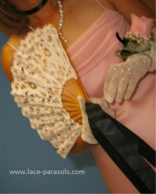 wedding lace gloves