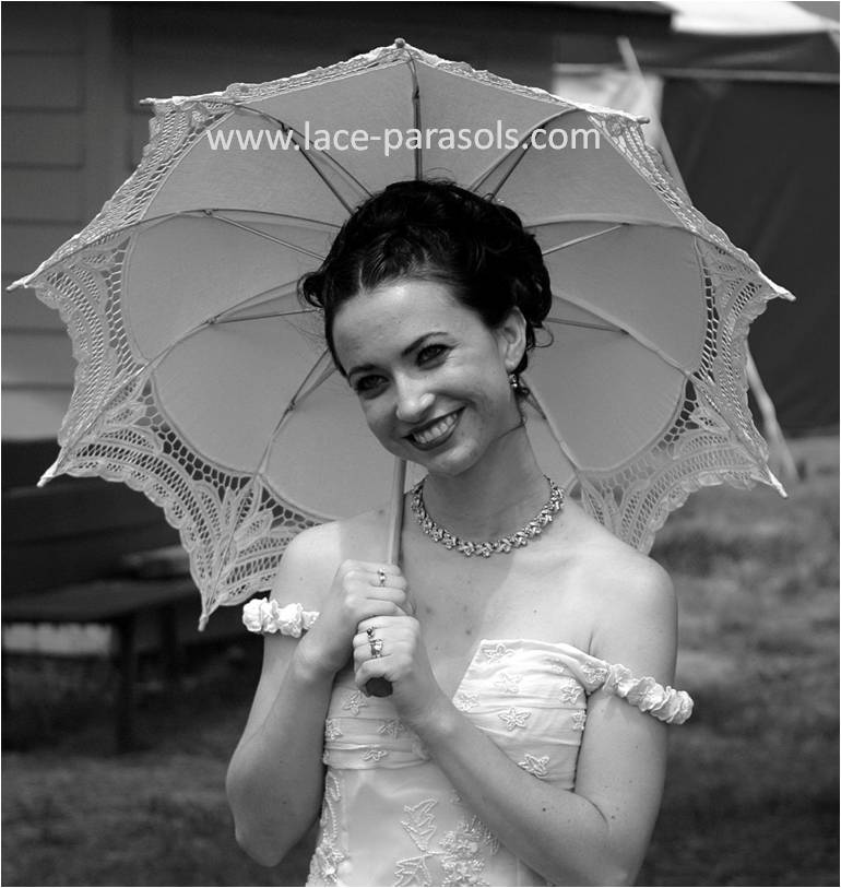 wedding umbrella parasol