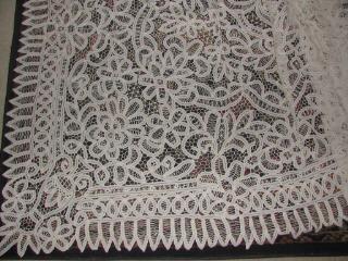 Lace Parasols White Battenburg Lace Tablecloth 72 Quot X 90 Quot