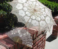 Lace Parasols Fine Wedding Lace Parasols Vintage Lace Gloves And